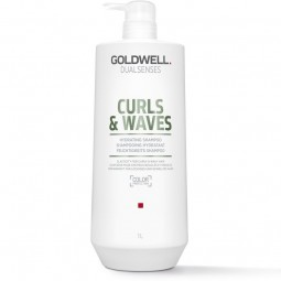 GOLDWELL - DUALSENSES - CURLS & WAVES Feuchtigkeitsspendender Conditioner (1000 ml) Conditioner für lockiges Haar