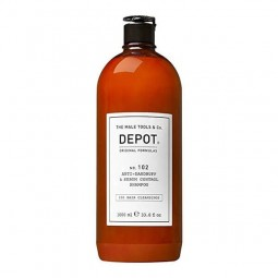 DEPOT - No.102 ANTI-DANDRUFF & SEBUM CONTROL SHAMPOO (1000ml) Shampoo anti forfora