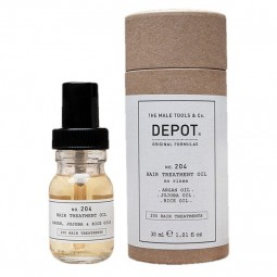 DEPOT - No.204 HAIR TREATMENT OIL (30ml) Olio senza risciacquo