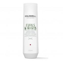 GOLDWELL - DUALSENSES - CURLS & WAVES Hydrating Shampoo (250ml) Shampoo per capelli ricci