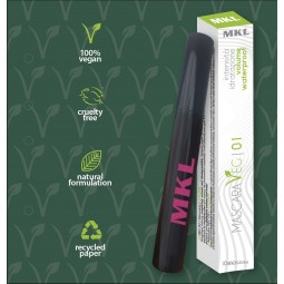 MKL MAKEUP - MASCARA Veg 01 Volumen wasserdicht