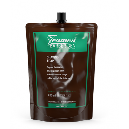 FRAMESI - BARBER GEN - SHAVING FOAM (400ml) Sapone da Barba