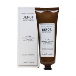 DEPOT - No.106 DANDRUFF CONTROL INTENSIVE CREAM SHAMPOO (125ml) Shampoo in crema anti forfora