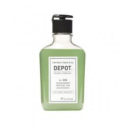 DEPOT - No. 406 TRANSPARENT SHAVING GEL (200ml) Gel non schiumogeno per la rasatura