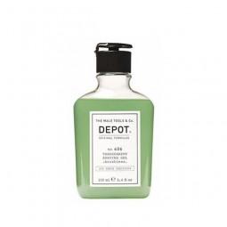 DEPOT - No. 406 TRANSPARENT SHAVING GEL (100ml) Gel non schiumogeno per la rasatura