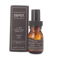 DEPOT - No.505 CONDITIONING BEARD OIL GINGER & CARDAMOM ( 30ml) Olio da barba