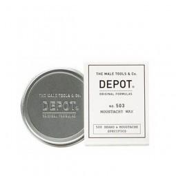 DEPOT - No.503 MOUSTACHE WAX (30ml) Cera modellante e fissativa per baffi