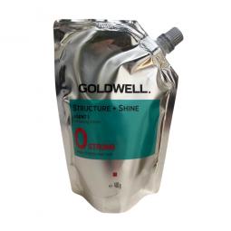 GOLDWELL - STRUCTURE + SHINE 0 STRONG (400g) Stiratura per capelli non trattati