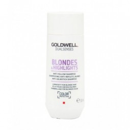 GOLDWELL - DUALSENSES - BLONDES & HIGHLIGHTS - ANTI-YELLOW (30ml) Shampoo