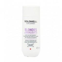 GOLDWELL - DUALSENSES - BLONDES & HIGHLIGHTS - ANTI-YELLOW SHAMPOO (30ml) Shampoo