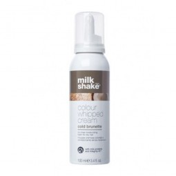 MILK SHAKE - COLOUR WHIPPED CREAM - Cold Brunette (100ml) Mousse cremosa colorata