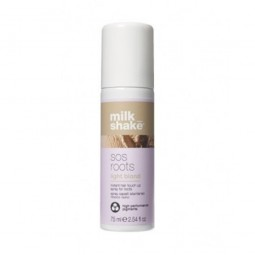 Z.ONE - MILK SHAKE - SOS ROOTS LIGHT BLONDE (75ml) Spray capelli istantaneo ritocco radici