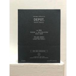 DEPOT - No. 806 TONING & REVITALIZING FACE MASK (12pc x 13ml) Maschera tonificante