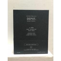 DEPOT - No. 808 DEEP HYDRATION FACE MASK (12pc x 13ml) Maschera idratante profonda