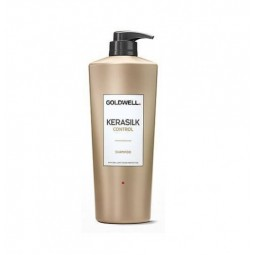 GOLDWELL - KERASILK CONTROL Shampoo (1000ml) Shampoo anti crespo
