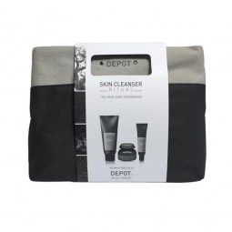 DEPOT - SKIN CLEANSER RITUAL KIT - THE SKIN CARE EXPERIENCE
