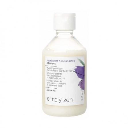 Z.ONE CONCEPT - SIMPLY ZEN - AGE BENEFIT & MOISTURIZING SHAMPOO (250ml) Shampoo