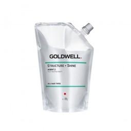 GOLDWELL - STRUCTURE + SHINE AGENT2 Neutralizing Cream (400g) Stabilizzatore per stiratura